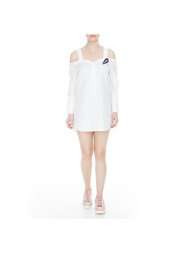 Armani Elbise Beyaz